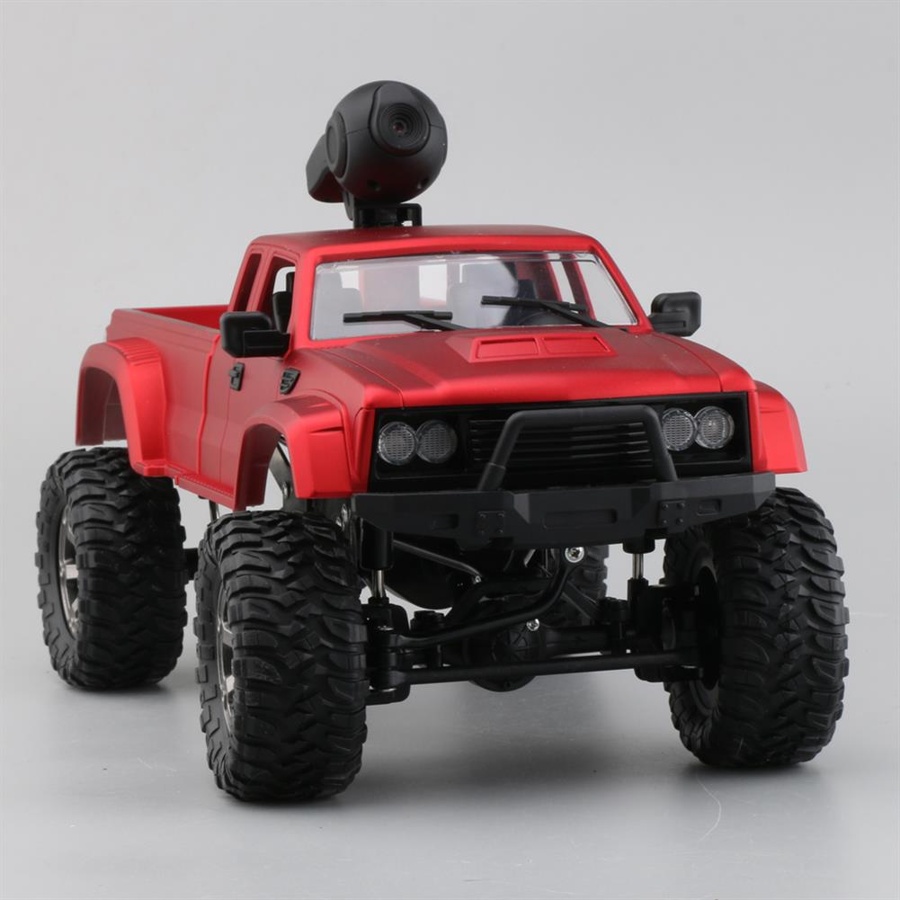 rc-cars Fayee FY002A 1/16 2.4G 4WD Rc Car 720P HD WIFI FPV Off-road Military Truck W/LED Light RTR Toy RC1348381 5