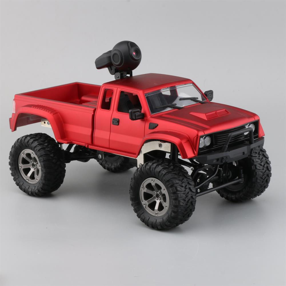 rc-cars Fayee FY002A 1/16 2.4G 4WD Rc Car 720P HD WIFI FPV Off-road Military Truck W/LED Light RTR Toy RC1348381 6