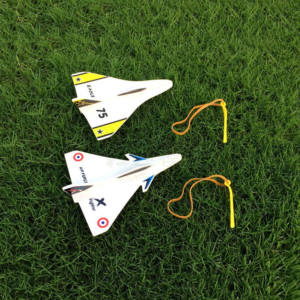 rc-airplane Elastic Rubber Band Powered DIY Delta Wing Foam Plane Kit Aircraft Model Outdoor Toys RC1351743