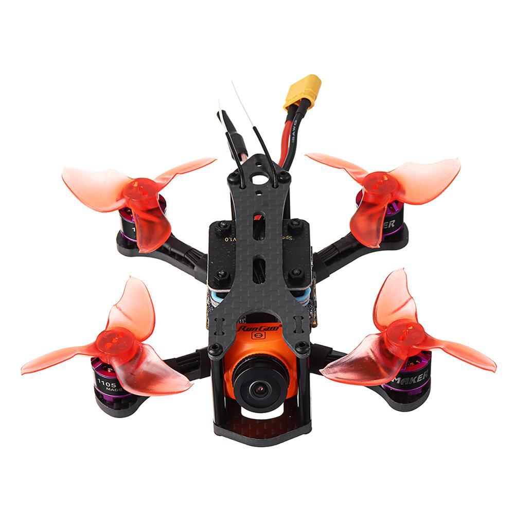 fpv-racing-drones SPCMaker SPC K1 95mm Omnibus F4 20A BL_S FPV Racing Drone PNP BNF w/ RunCam Split Mini 2 Camera RC1357411
