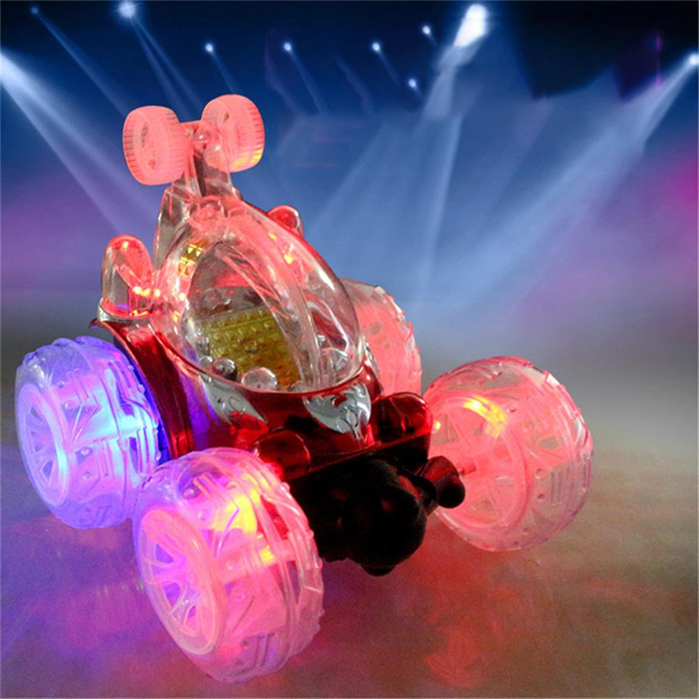 rc-cars 1/18 Rechargeable Rc Stunt Car 360 Degree Rotation with Flashing LED Light Toy RC1359518