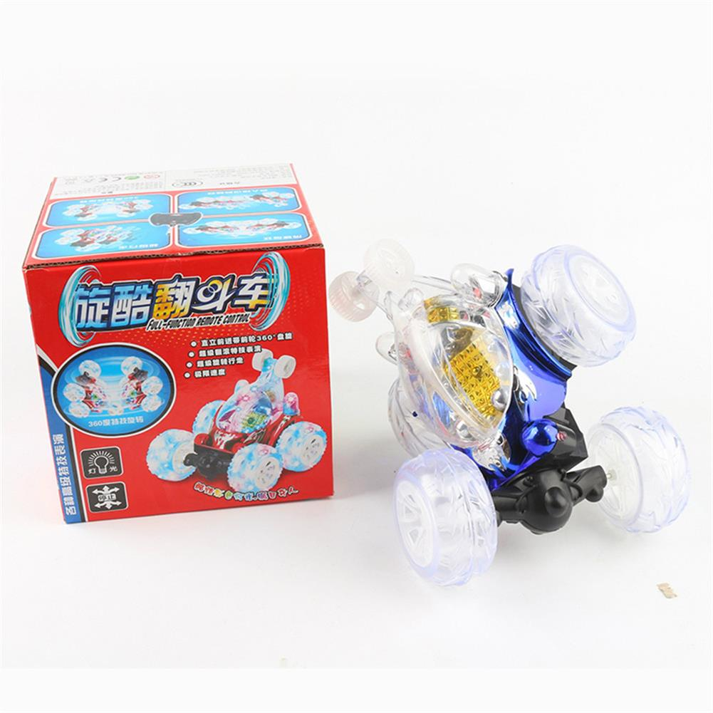 rc-cars 1/18 Rechargeable Rc Stunt Car 360 Degree Rotation with Flashing LED Light Toy RC1359518 5