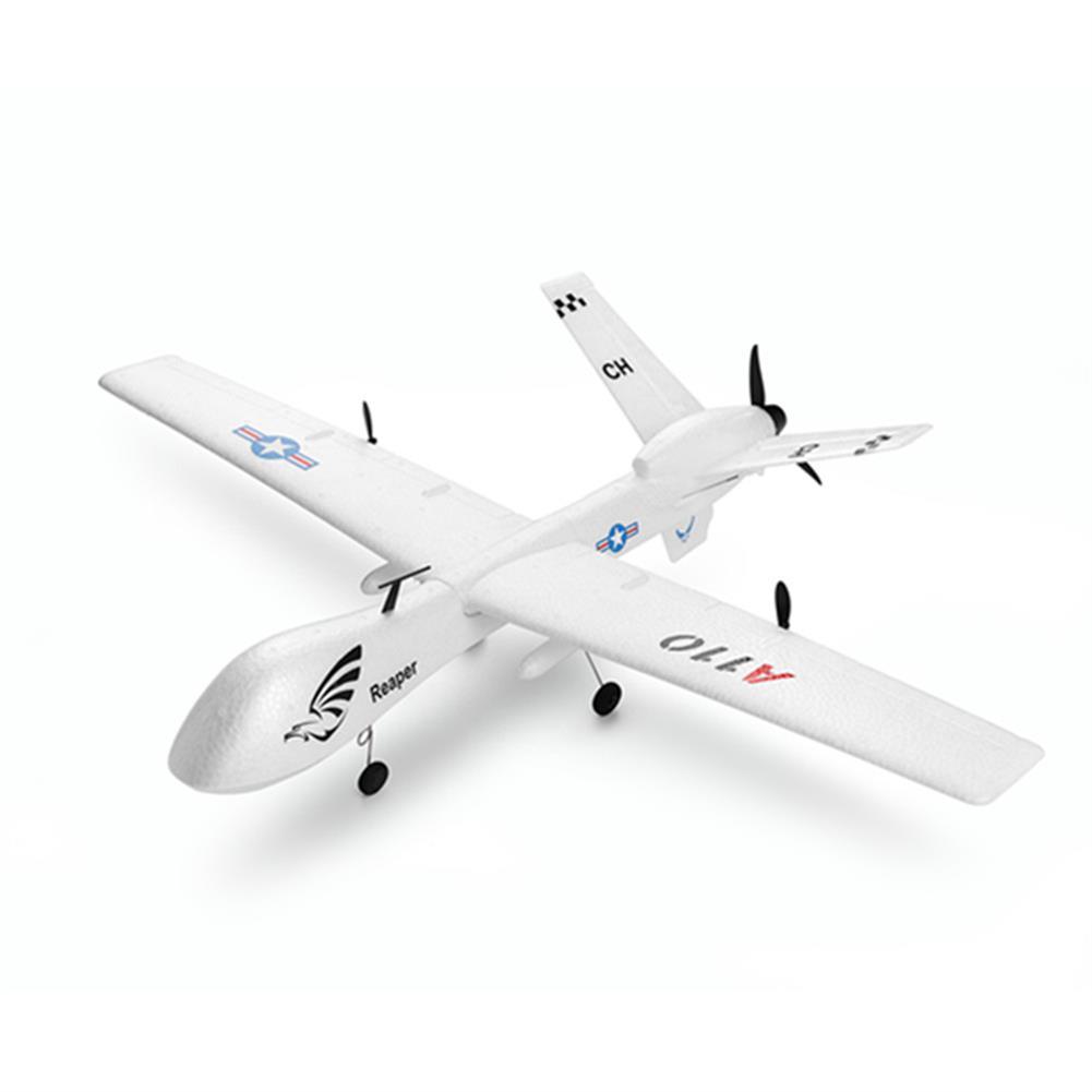 rc-airplanes XK A110 Predator MQ-9 EPP 565mm Wingspan 2.4G 3CH DIY Glider RC Airplane RTF Built-in Gyro RC1360781