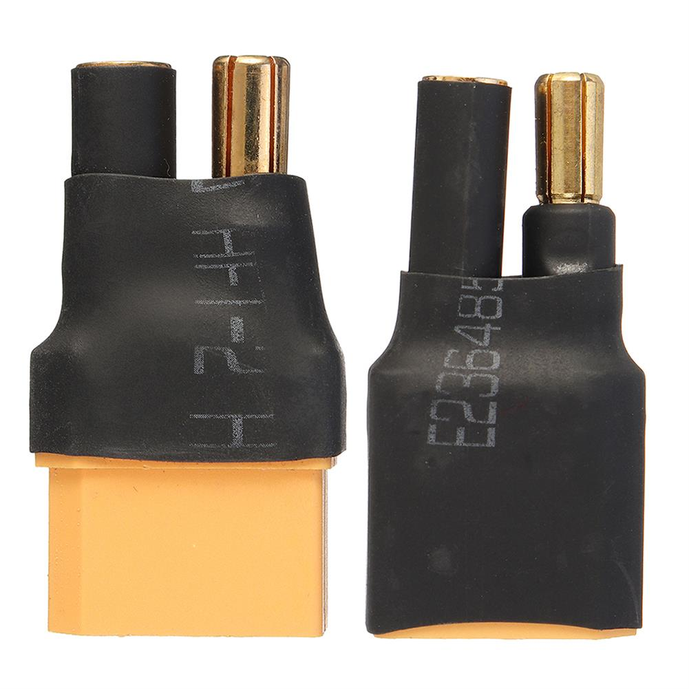 connector-cable-wire XT90 Male Female To HXT 5.5mm Male Bullet Connector Plug Adapter RC1360832