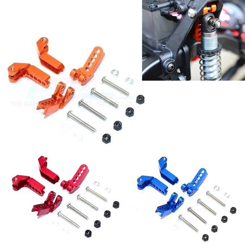 rc-car-parts 1 Set 1/10 Adjustable Aluminum Front & Rear Damper Mount for Traxxas TRX-4 Rc Car Parts RC1363082