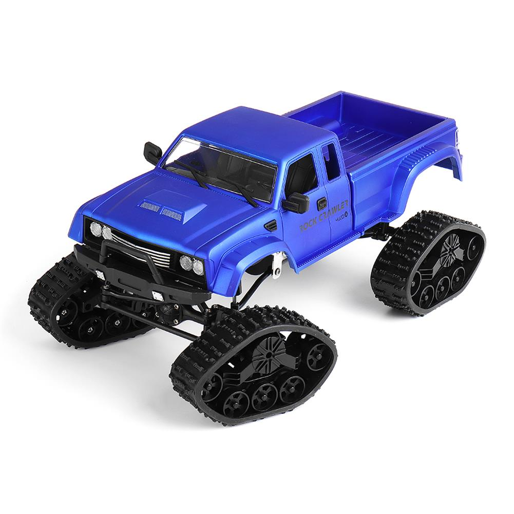 rc-cars Fayee FY002 1/16 2.4G 4WD Rc Car Military Truck Track Wheel Rock Crawler W/ LED Light RTR Toy RC1363822