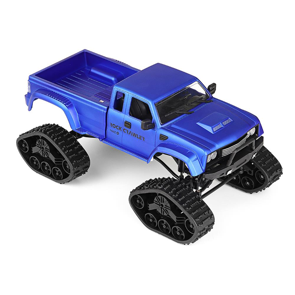 rc-cars Fayee FY002 1/16 2.4G 4WD Rc Car Military Truck Track Wheel Rock Crawler W/ LED Light RTR Toy RC1363822 1