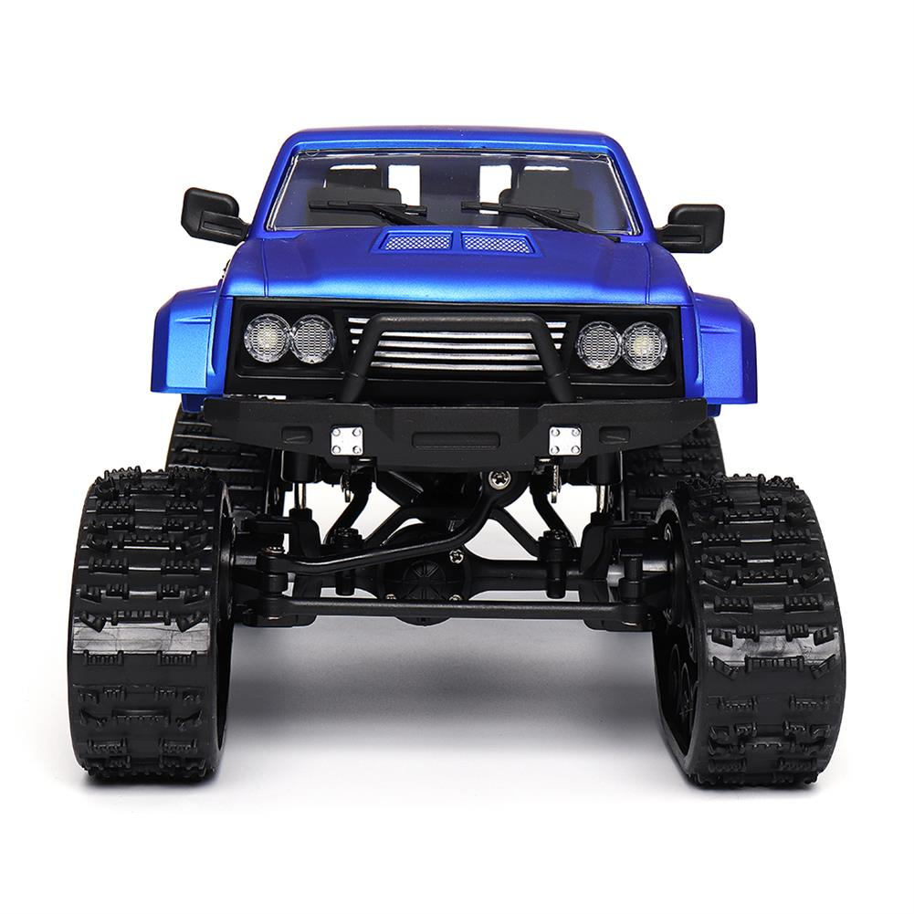 rc-cars Fayee FY002 1/16 2.4G 4WD Rc Car Military Truck Track Wheel Rock Crawler W/ LED Light RTR Toy RC1363822 4