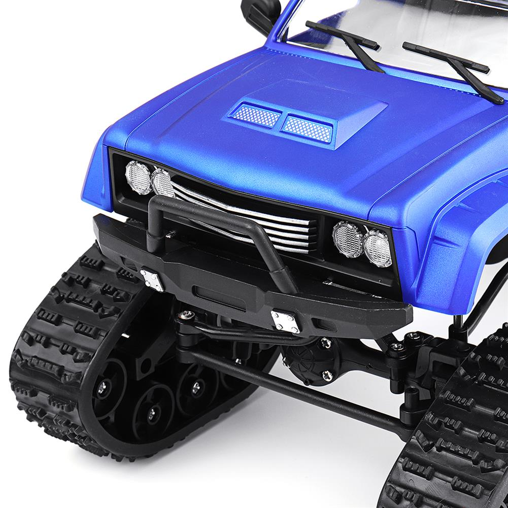 rc-cars Fayee FY002 1/16 2.4G 4WD Rc Car Military Truck Track Wheel Rock Crawler W/ LED Light RTR Toy RC1363822 9