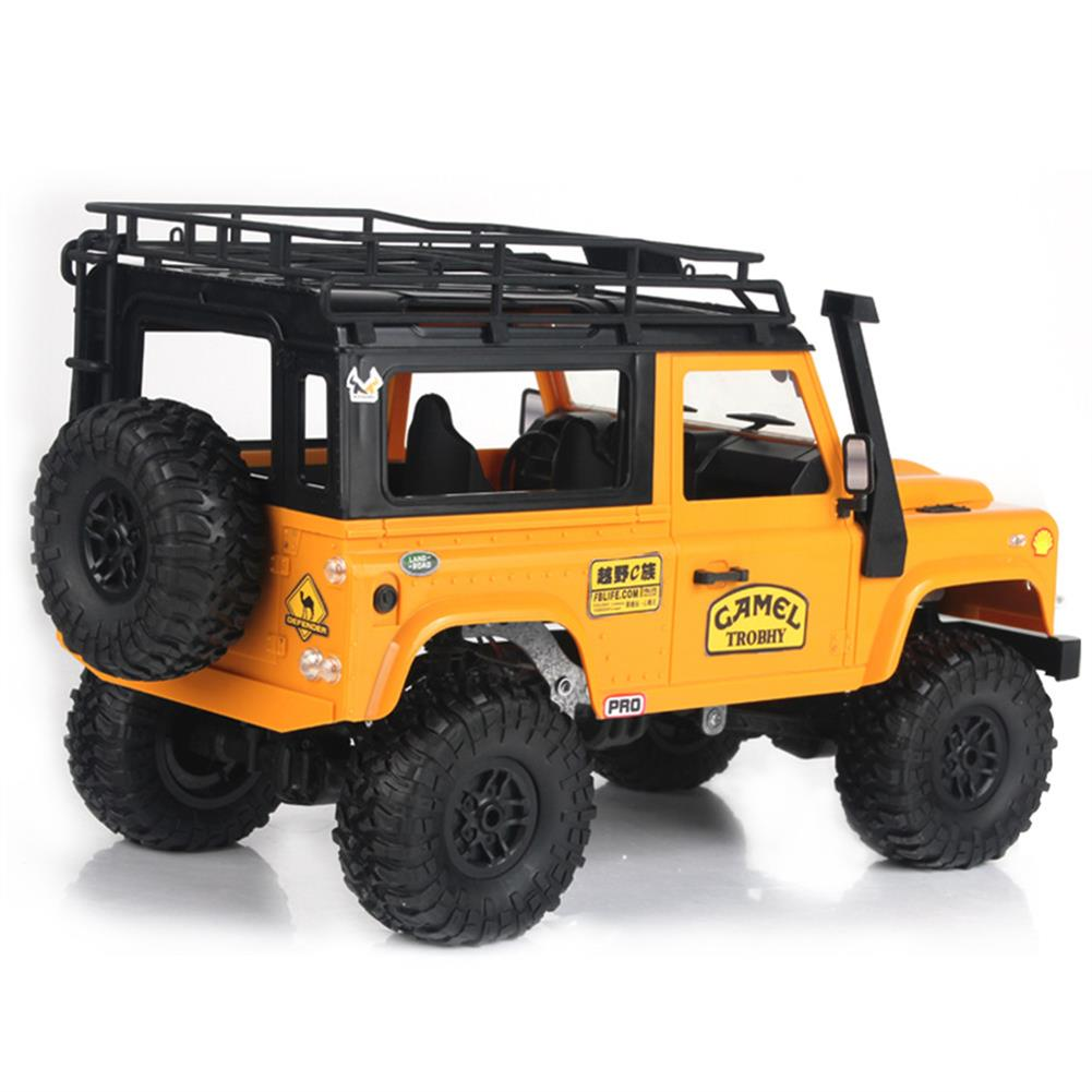 rc-cars MN-90 1/12 2.4G 4WD Rc Car W/ Front LED Light 2 Body Shell Roof Rack Crawler Monster Truck RTR Toy RC1364874 3