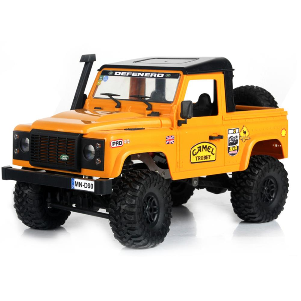 rc-cars MN-90 1/12 2.4G 4WD Rc Car W/ Front LED Light 2 Body Shell Roof Rack Crawler Monster Truck RTR Toy RC1364874 5