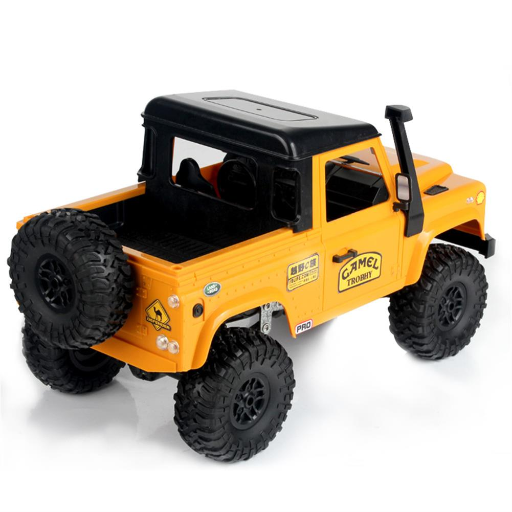 rc-cars MN-90 1/12 2.4G 4WD Rc Car W/ Front LED Light 2 Body Shell Roof Rack Crawler Monster Truck RTR Toy RC1364874 7