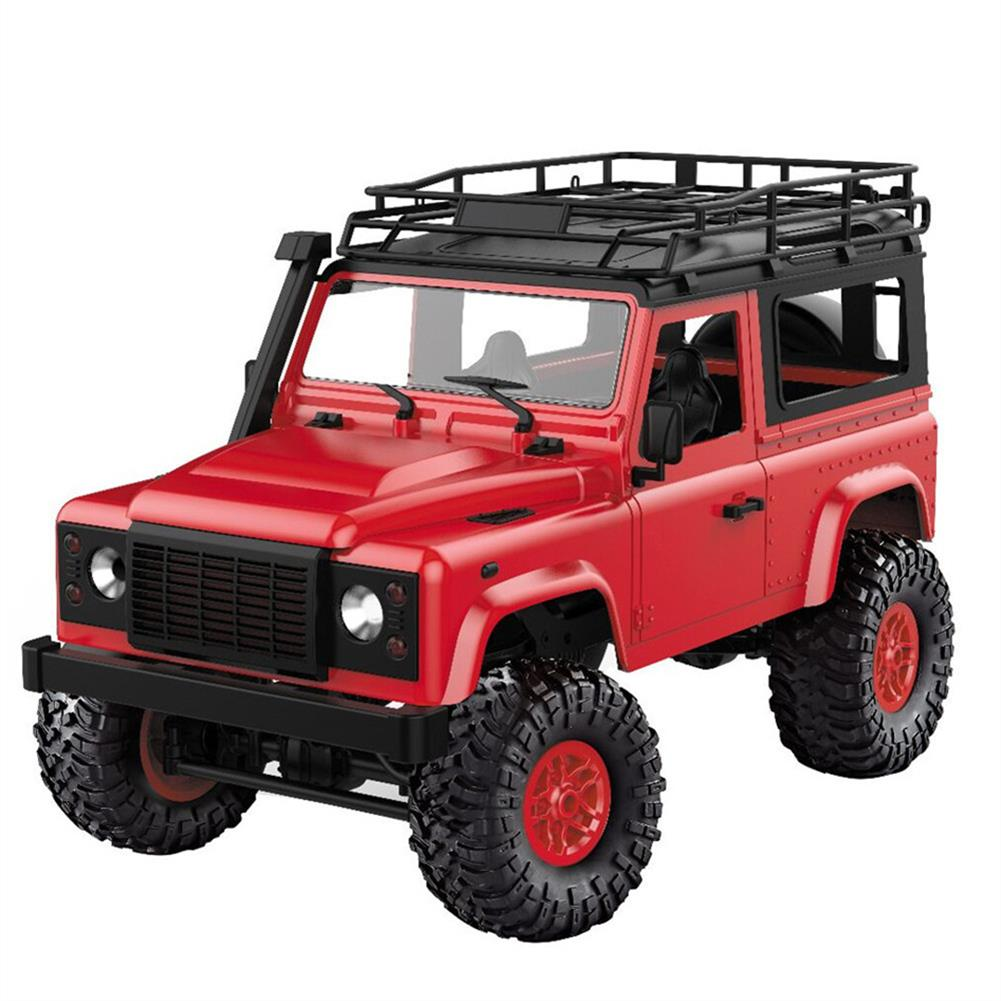 rc-cars MN-90 1/12 2.4G 4WD Rc Car W/ Front LED Light 2 Body Shell Roof Rack Crawler Monster Truck RTR Toy RC1364874 8