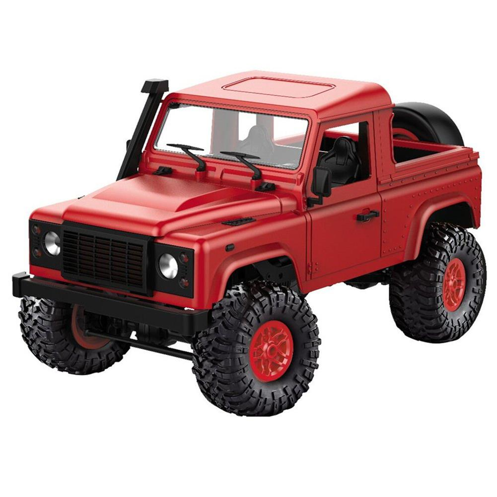 rc-cars MN-90 1/12 2.4G 4WD Rc Car W/ Front LED Light 2 Body Shell Roof Rack Crawler Monster Truck RTR Toy RC1364874 9