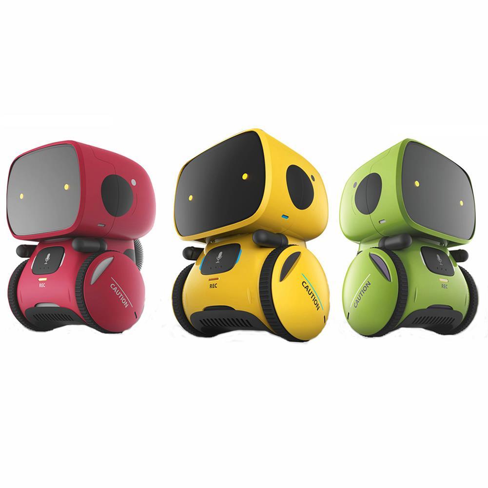 robot-toys AT- ROBOT APOLLO Smart RC Robot Voice Control Touch Sensitive Voice Record Mode Walking Robot Toy RC1367592