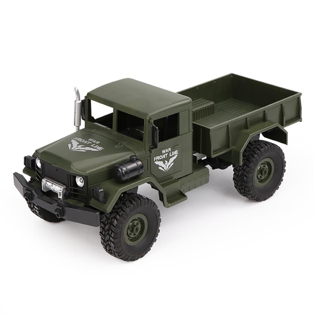 rc-cars JJRC Q62 1/16 2.4G 4WD Off-Road Military Truck Crawler Transporter RC Car RTR RC1368097 5