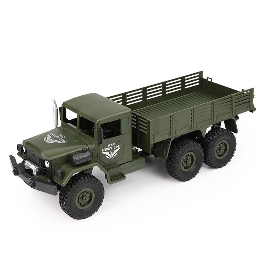 rc-cars JJRC Q63 1/16 2.4G 6WD Off-Road Transporter Military Truck Crawler RC Car RTR RC1368117