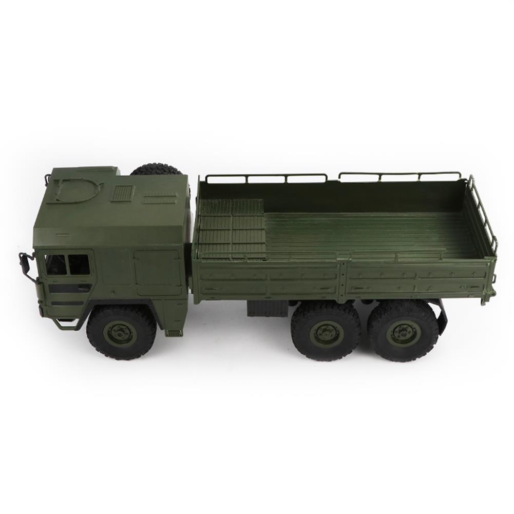 rc-cars JJRC Q63 1/16 2.4G 6WD Off-Road Transporter Military Truck Crawler RC Car RTR RC1368117 2