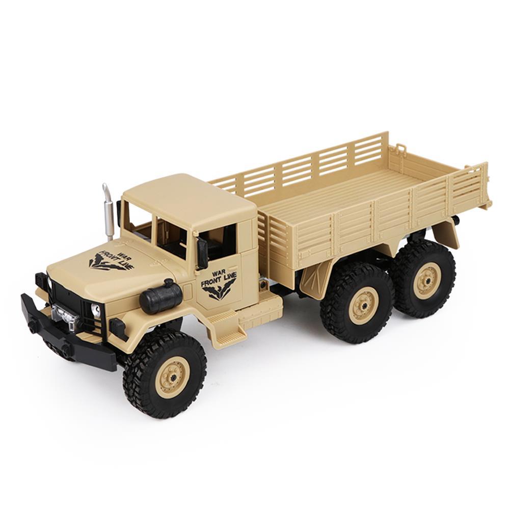 rc-cars JJRC Q63 1/16 2.4G 6WD Off-Road Transporter Military Truck Crawler RC Car RTR RC1368117 5