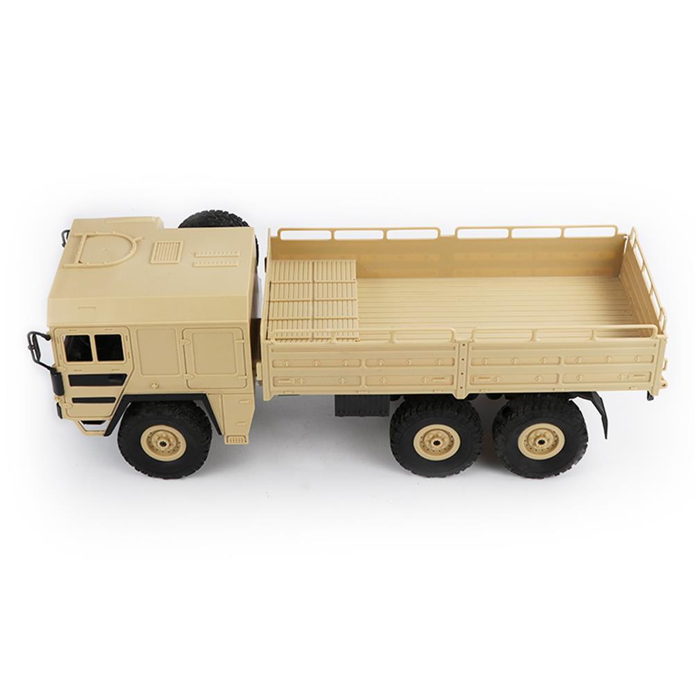 rc-cars JJRC Q63 1/16 2.4G 6WD Off-Road Transporter Military Truck Crawler RC Car RTR RC1368117 8