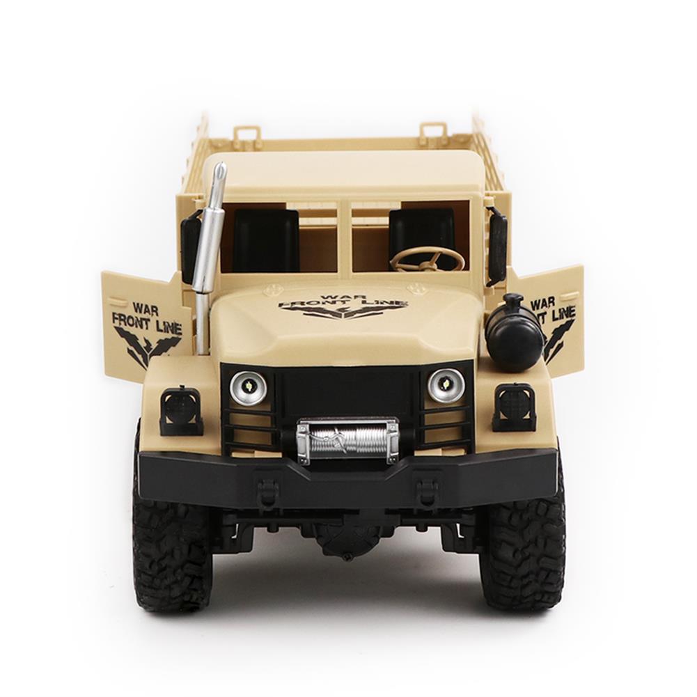 rc-cars JJRC Q63 1/16 2.4G 6WD Off-Road Transporter Military Truck Crawler RC Car RTR RC1368117 9