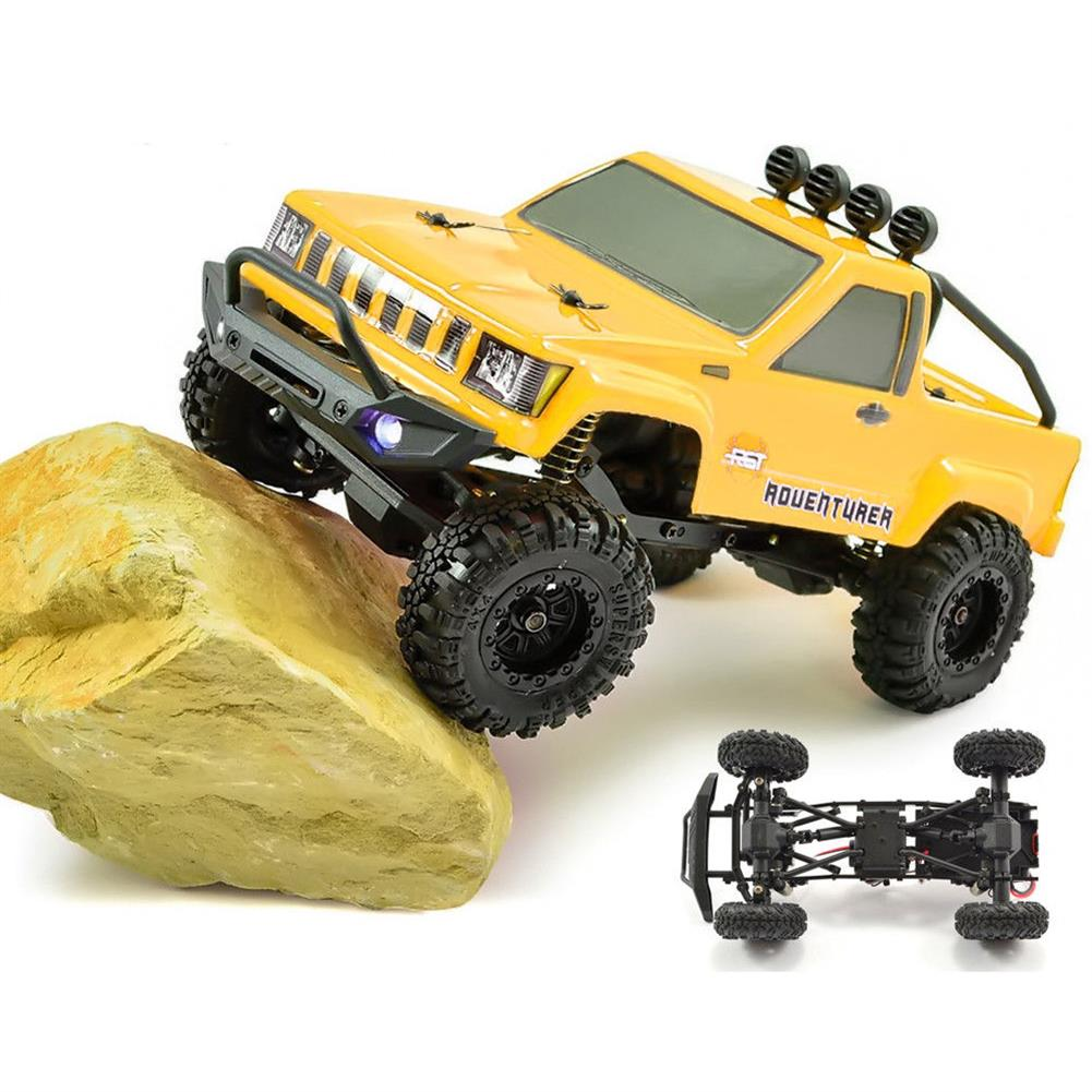 rc-cars RGT RC Car 1/24 136240 4WD 4x4 Lipo mini Monster Off Road Truck RTR Rock Crawler With Lights RC1370020