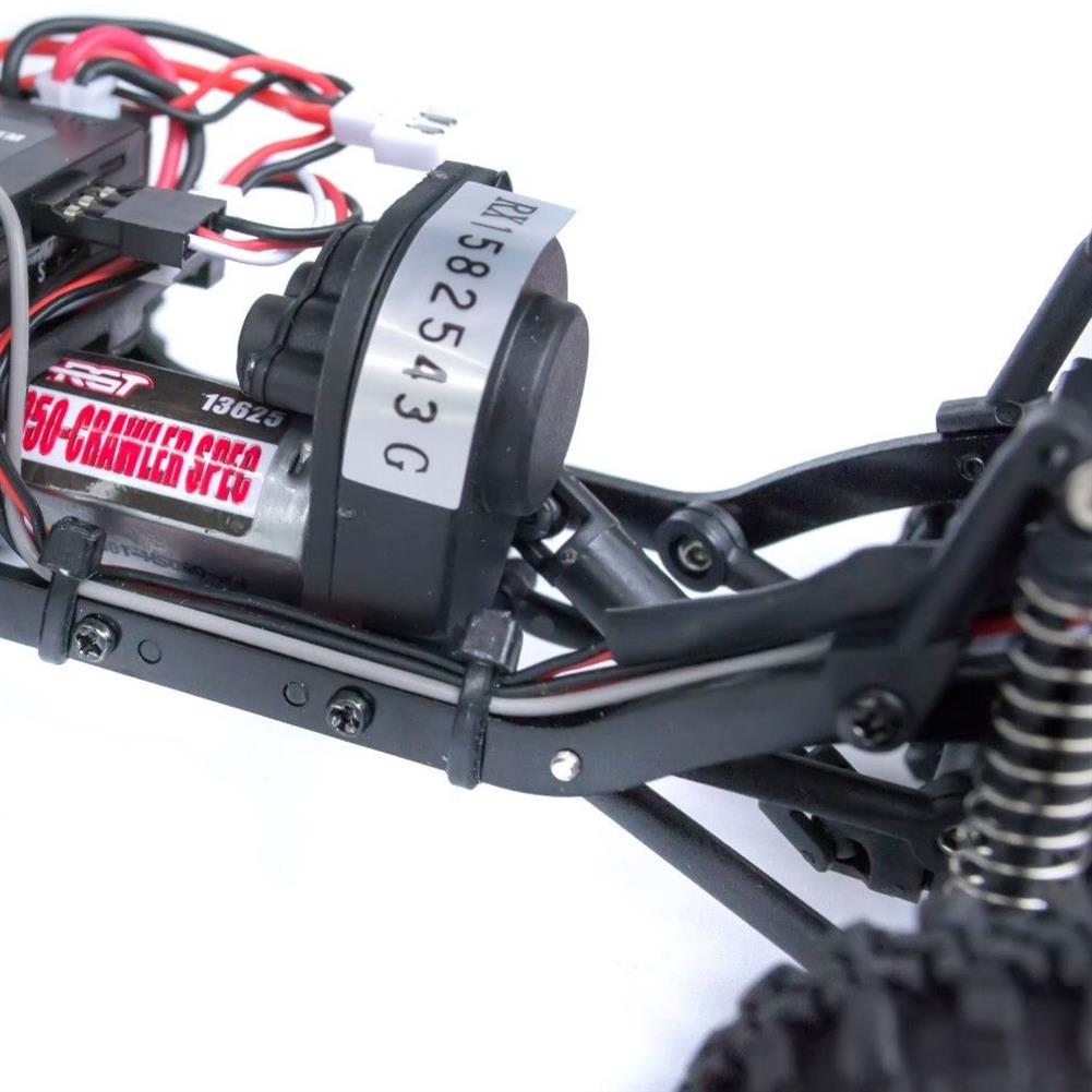 rc-cars RGT RC Car 1/24 136240 4WD 4x4 Lipo mini Monster Off Road Truck RTR Rock Crawler With Lights RC1370020 9