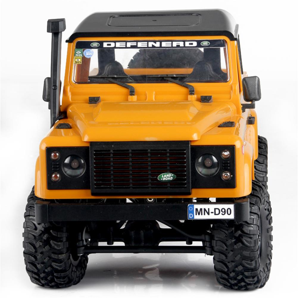 rc-cars 1 Set MN-90 Kit 1/12 2.4G 4WD Rc Car Crawler Monster Truck Without ESC Transmitter Receiver Battery RC1370557 9