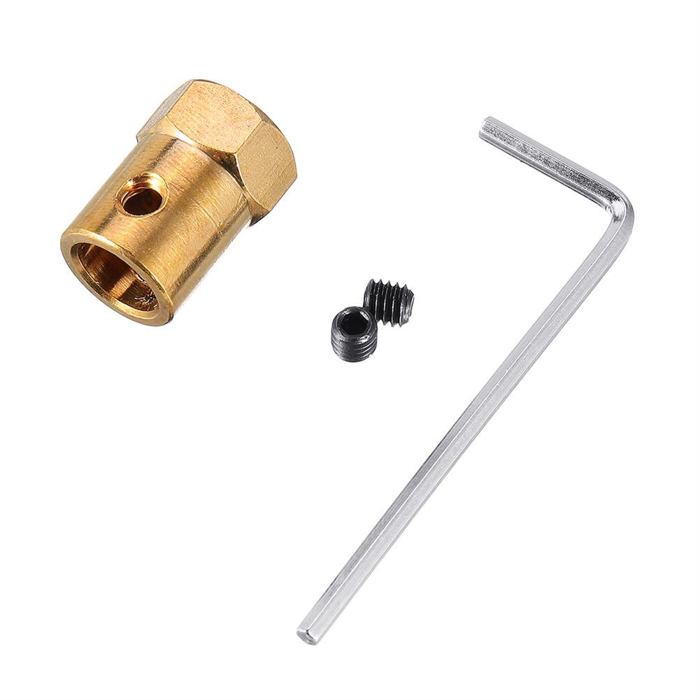 rc-boat-parts 1pc Coupling 6 to 11mm Shaft Alloy With Hex Wrench+Screws Motor Coupler Connector RC Boat Parts RC1370871