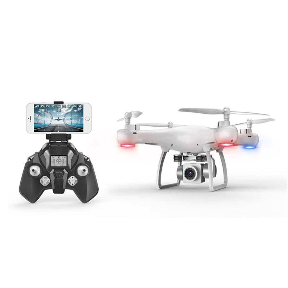 rc-quadcopters S10T WIFI FPV 2.0MP Wide Angle Camera With Servo Optical Flow Attitude Hold RC Drone Quadcopter RC1373968