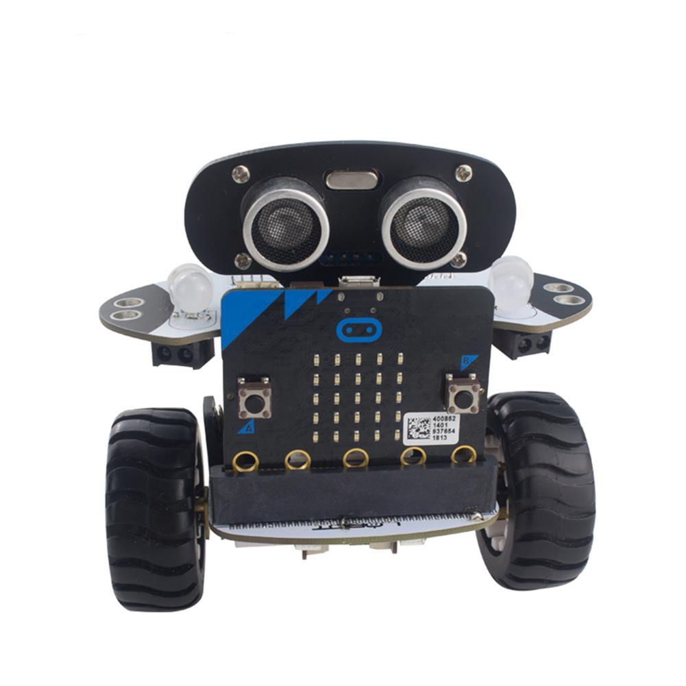 smart-robot-car LOBOT DIY Micro:bit Programming Smart RC Robot Balance Car APP Control Educational Kit RC1374892