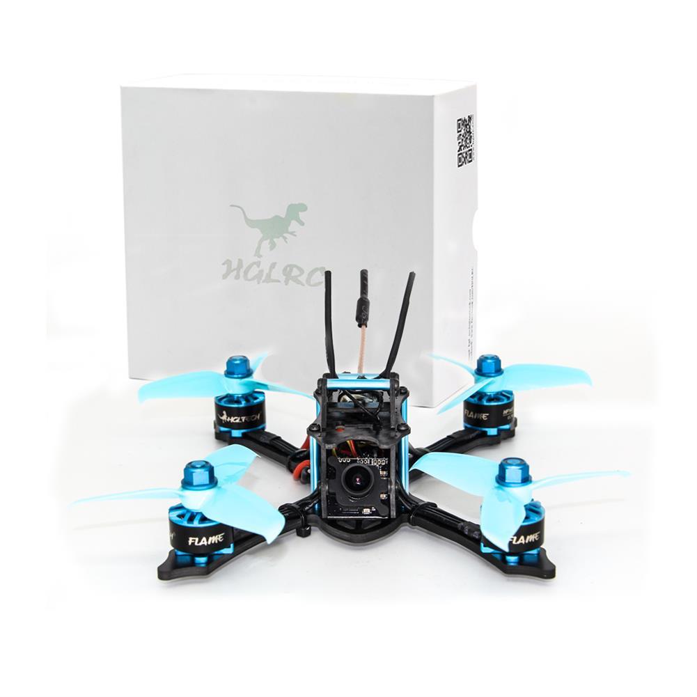 fpv-racing-drones HGLRC XJB-145 145mm F4 OSD Micro FPV Racing Drone BNF w/ Compatible Flysky A8S V2 Receiver AURORA HD FPV Camera RC1375220 3