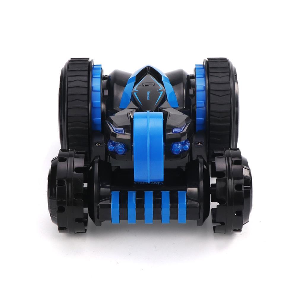 rc-cars JJRC Q49 ACRO 2.4G 6CH Double-Sided Stunt Rc Car 360 Rotation All Terrain Vehicle W/ LED Light RC1378173 3