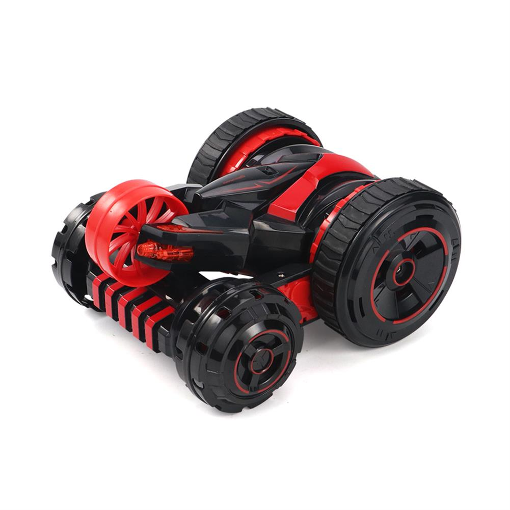 rc-cars JJRC Q49 ACRO 2.4G 6CH Double-Sided Stunt Rc Car 360 Rotation All Terrain Vehicle W/ LED Light RC1378173 6