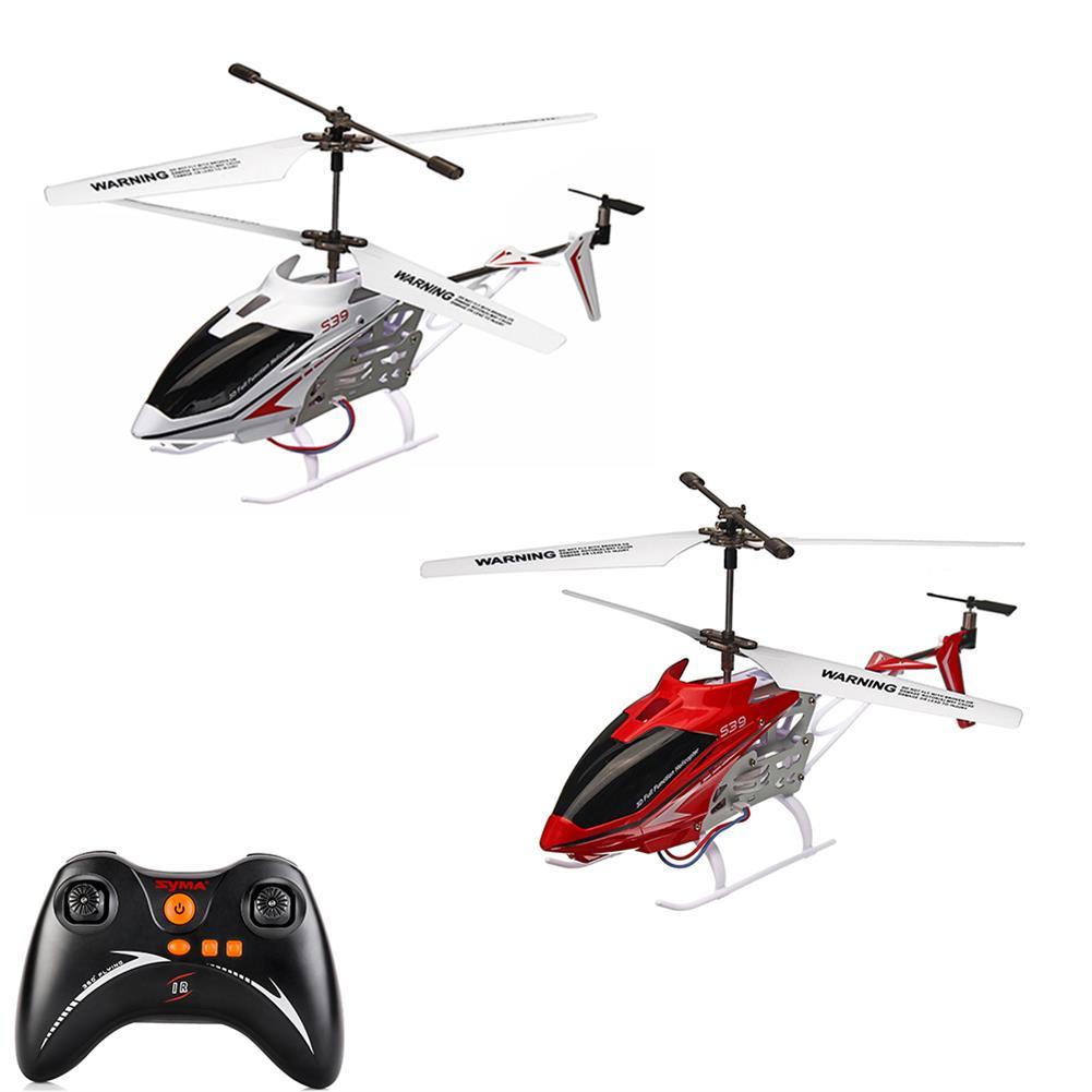 rc-helicopter SYMA S39 2.4G 3CH Remote Control Mini RC Helicopter With Controller RTF Kids Toy RC1379789
