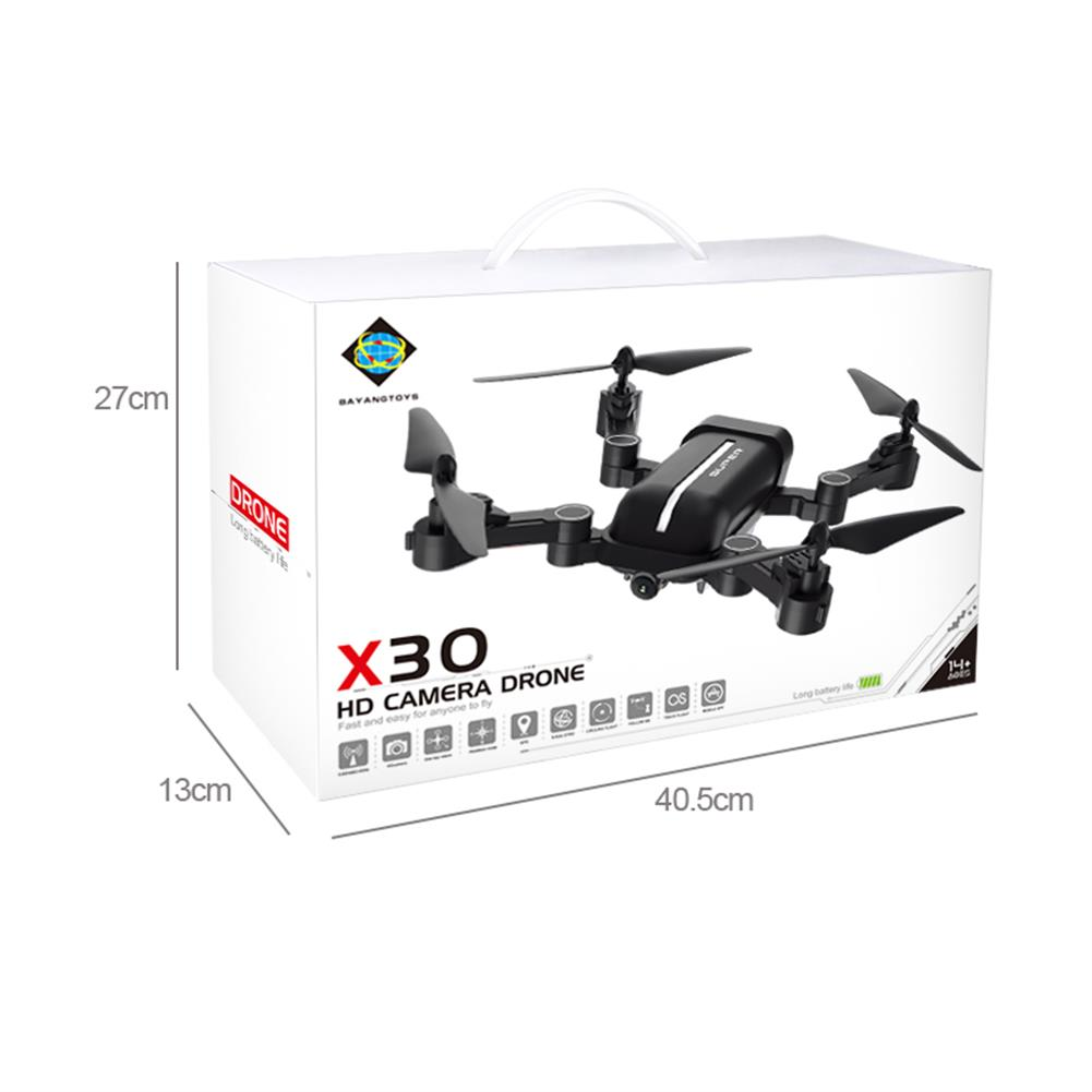 rc-quadcopters BAYANGTOYS X30 GPS 5G WiFi 1080P FPV with 8MP HD Camera Follow Me Foldable RC Drone Quadcopter RTF RC1380305 7