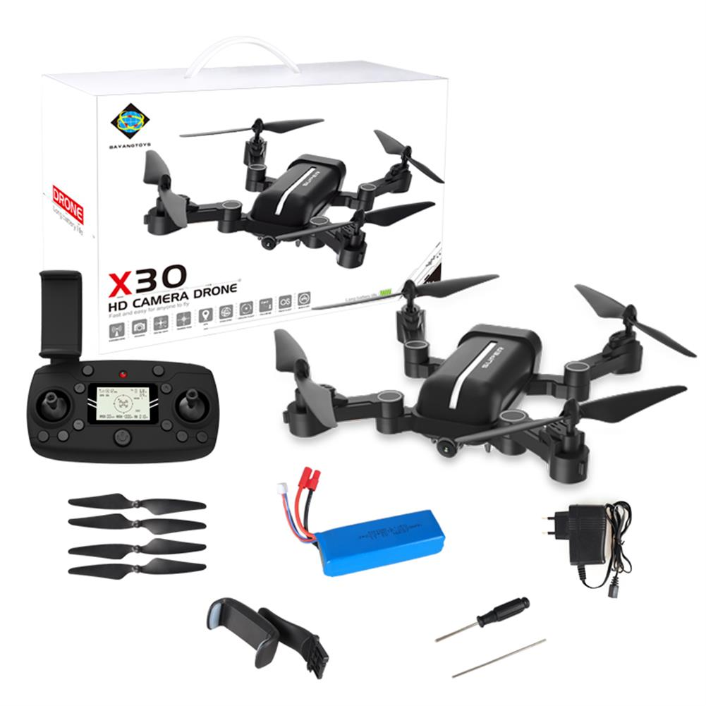 rc-quadcopters BAYANGTOYS X30 GPS 5G WiFi 1080P FPV with 8MP HD Camera Follow Me Foldable RC Drone Quadcopter RTF RC1380305 8