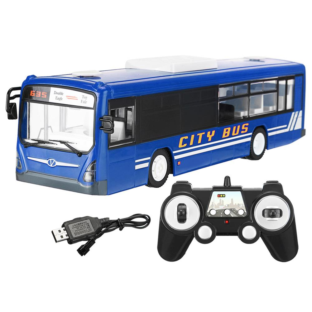 rc-cars 1PC Double Eagle E635-001 1/20 2.4G Wireless Simulation Rc Bus Sport Car W/ Sound Light Model RC1381242 5