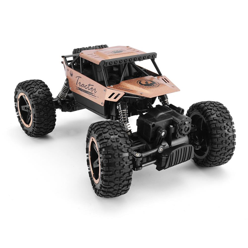rc-cars P880 1/16 2.4G 4WD Alloy Shell Rc Car Rock Crawler Climbing Truck Off-Road Vehicle RTR Toy RC1381295 4