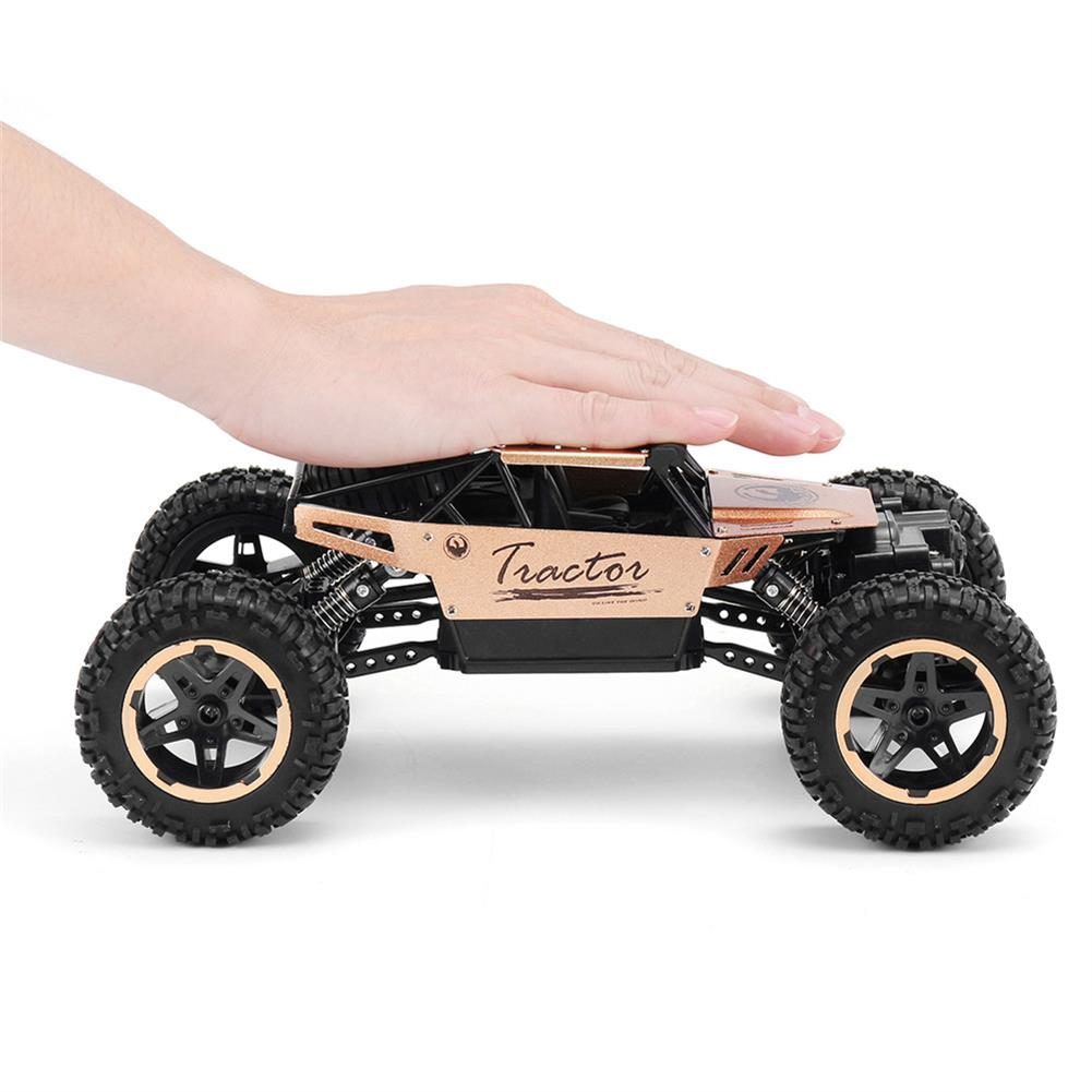 rc-cars P880 1/16 2.4G 4WD Alloy Shell Rc Car Rock Crawler Climbing Truck Off-Road Vehicle RTR Toy RC1381295 6