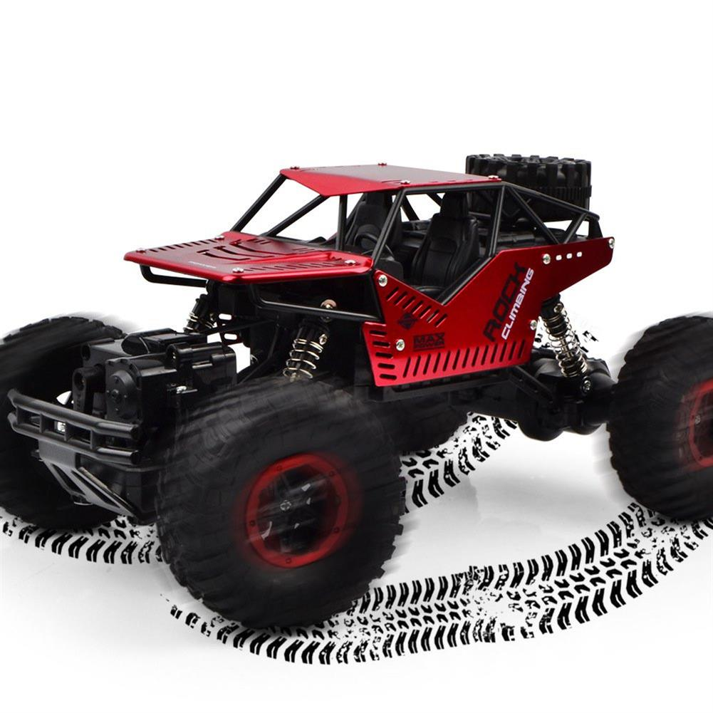 rc-cars 1PC LH-008S 1/16 2.4G 4WD 20km/h Alloy Shell Rc Car Rock Crawler Off-Road Climbing Truck RTR Toy RC1381843 1