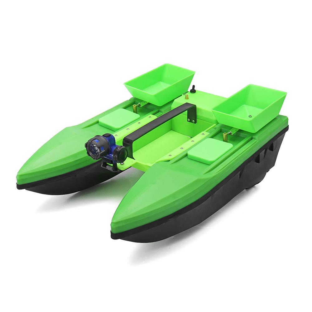 rc-boat 57cm Fishing Bait RC Boat 500M Remote Fish Finder 5.4km/h Double Motor Toys RC1384800