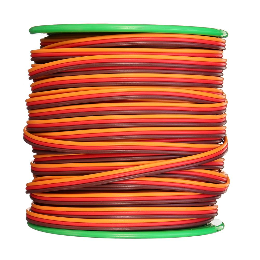 connector-cable-wire 30m 26AWG Soft Silicone Servo Cable Wire High Temperature Tinned Copper Flexible Wire RC1385641 1