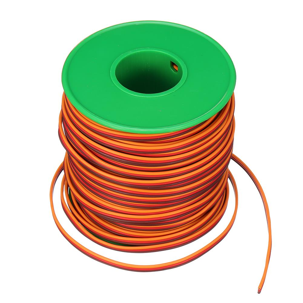 connector-cable-wire 30m 26AWG Soft Silicone Servo Cable Wire High Temperature Tinned Copper Flexible Wire RC1385641 5