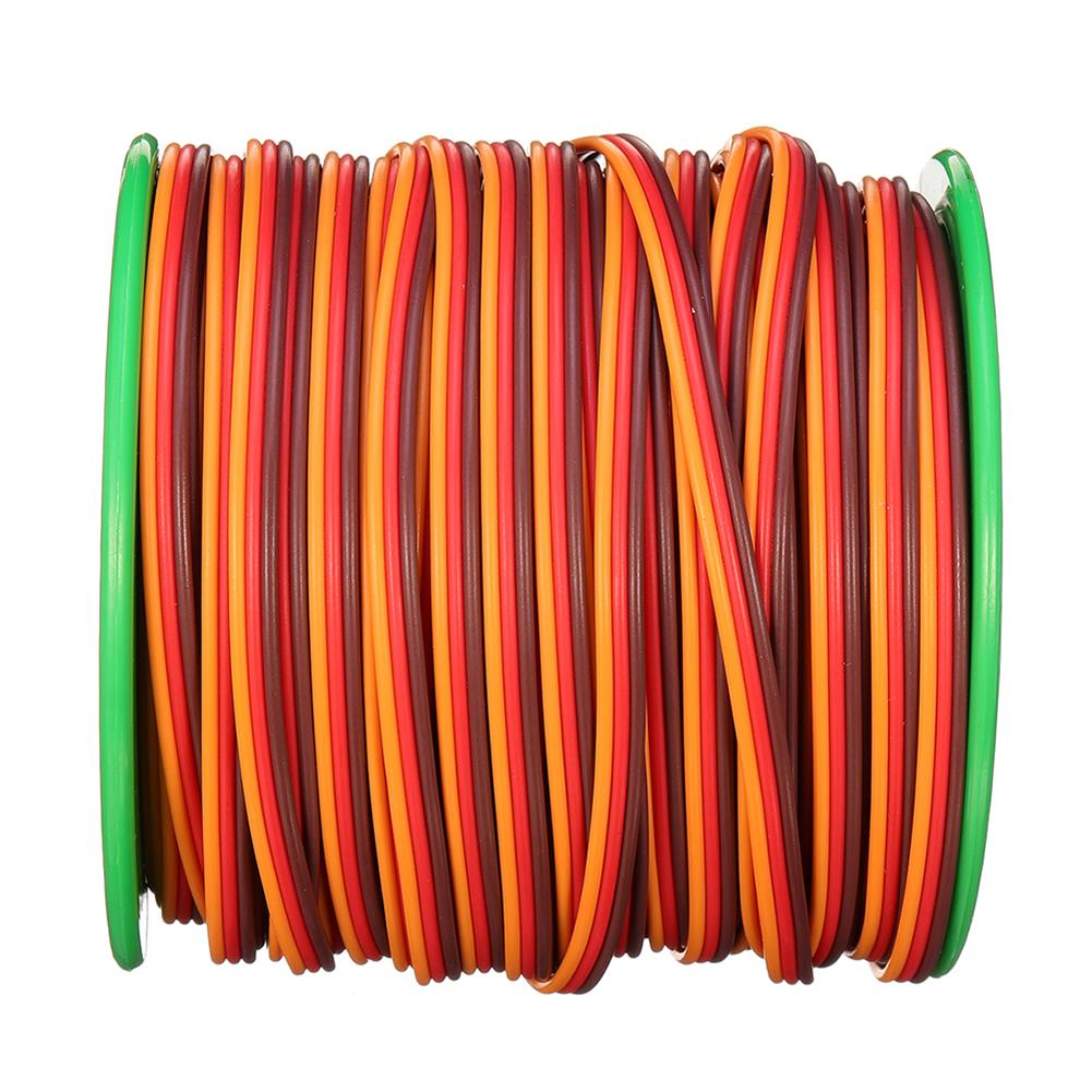 connector-cable-wire 30m 26AWG Soft Silicone Servo Cable Wire High Temperature Tinned Copper Flexible Wire RC1385641 6