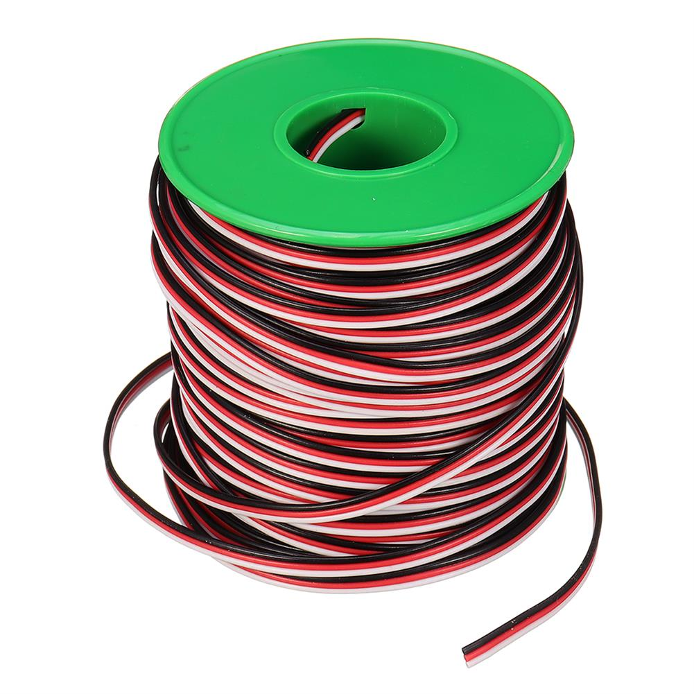 connector-cable-wire 30m 26AWG Soft Silicone Servo Cable Wire High Temperature Tinned Copper Flexible Wire RC1385641 7