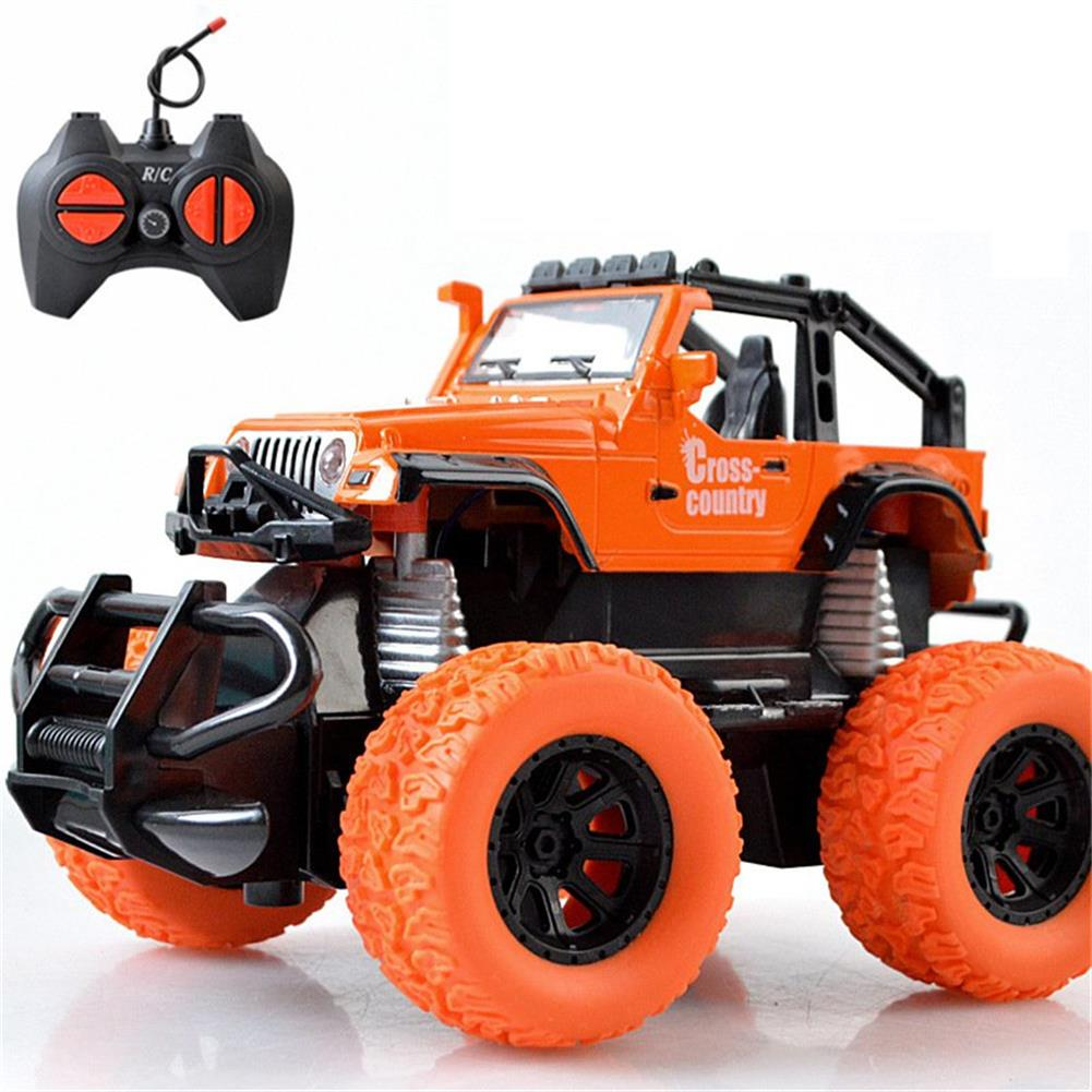 rc-cars Tensheng 1/28 27MHZ 4CH Rc Car Monster Off-road Truck Vehicle W/ Light Without Battery Toy RC1390446