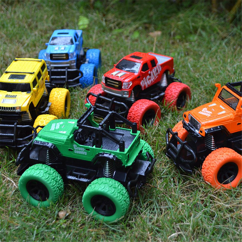 rc-cars Tensheng 1/28 27MHZ 4CH Rc Car Monster Off-road Truck Vehicle W/ Light Without Battery Toy RC1390446 8