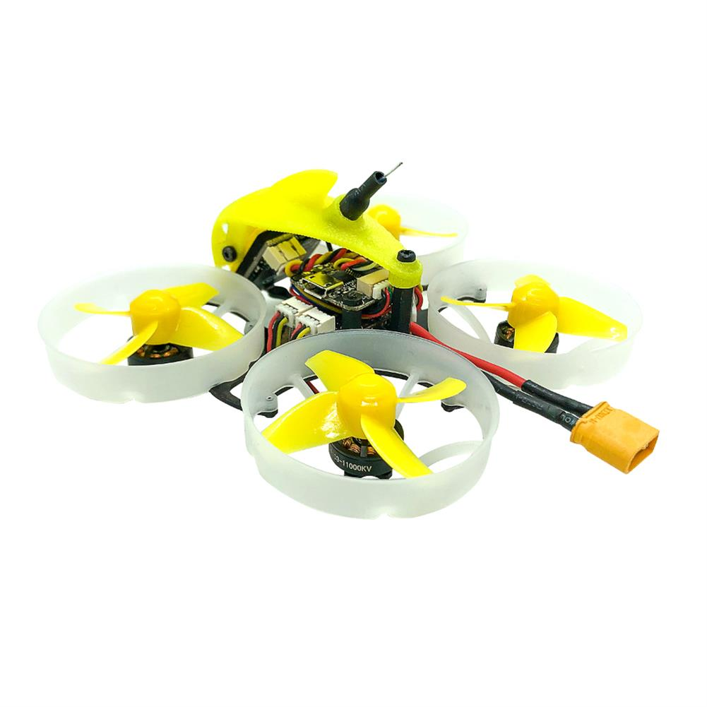 fpv-racing-drones FullSpeed TinyLeader 75mm F4 2-3S Whoop FPV Racing Drone 1103 Motor Caddx Adjustable Cam 600mW VTX RC1390447 4