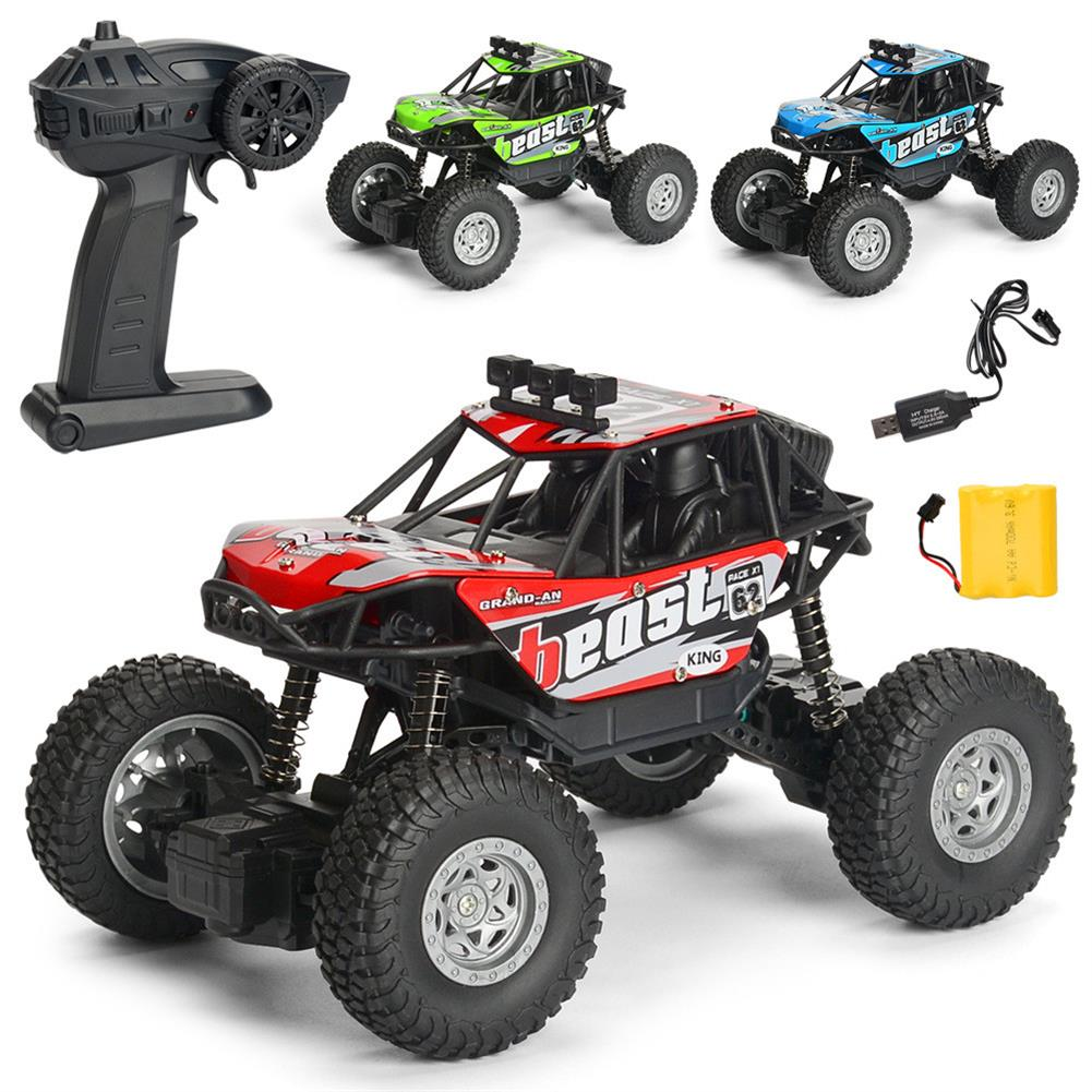 rc-cars 1PC MG A601 1/20 2.4G 4WD 15km/h Rc Car Rock Crawler Climbing Off-road Truck RTR Toy RC1391934 1